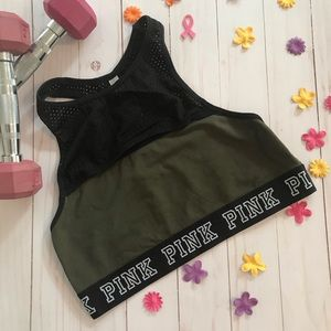 *LAST CHANCE* PINK by VS Sports Bra, Large